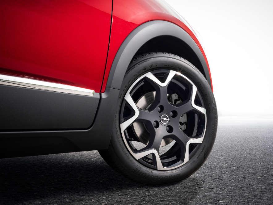 Opel Crossland, колесо