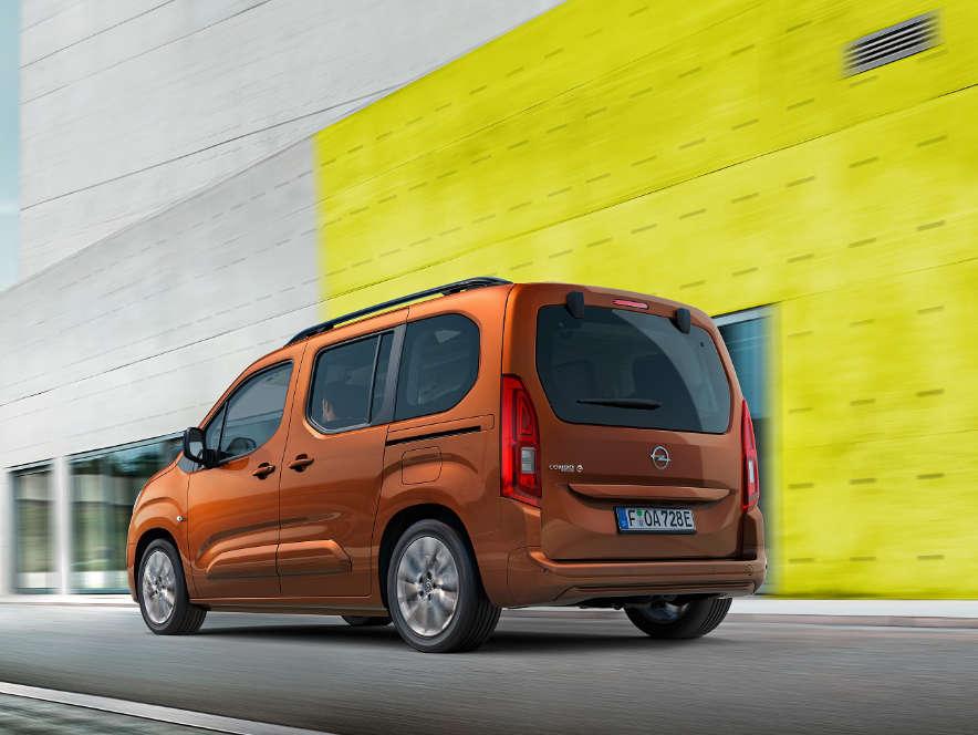 Opel Combo-e Life, зовнішній вигляд