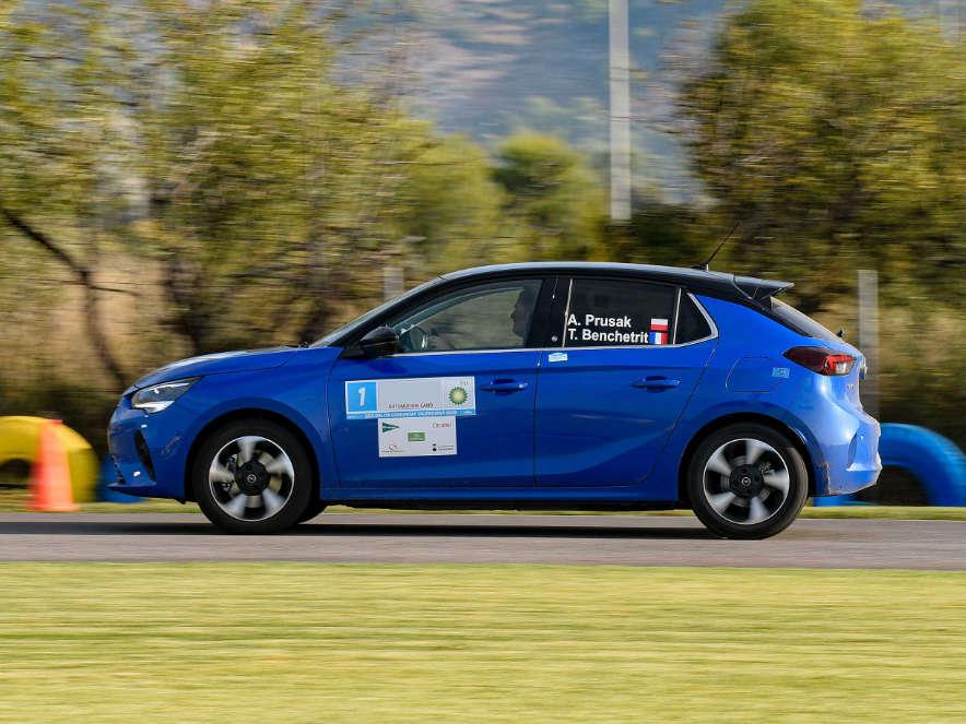 Opel Corsa-e, перегони FIA E-Rally Regularity Cup (ERRC) 2020 року
