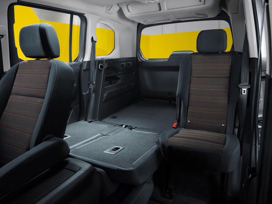 Роздільні задні сидіння