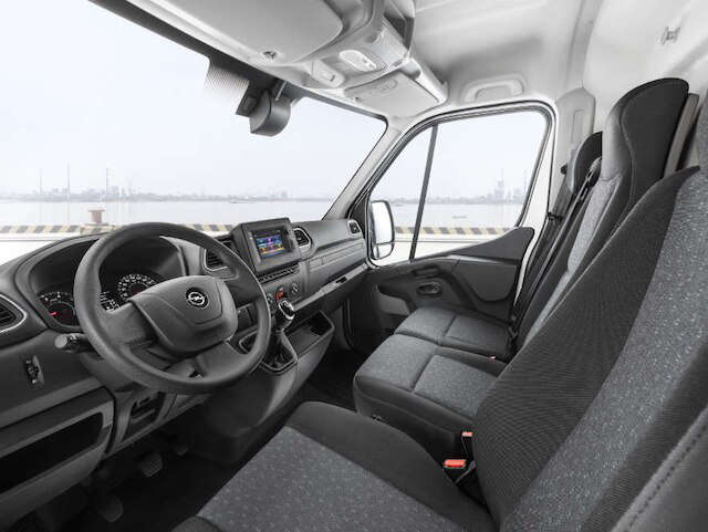 Opel, Movano, універсальність, салон, три місця